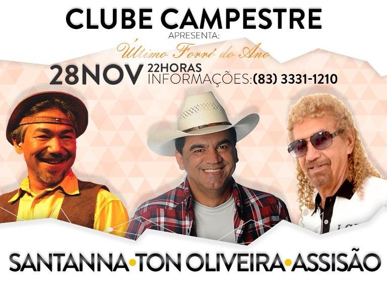 forró, ano, Campestre, Santana, Assissão, Tom Oliveira